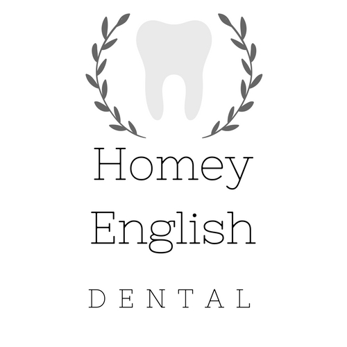 logo Homey English Dental