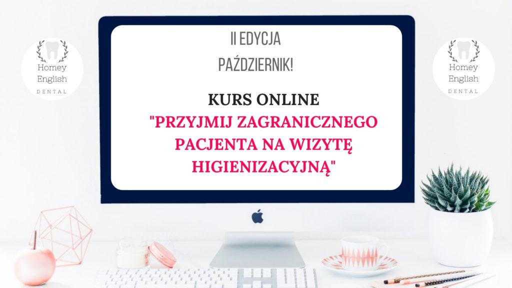 kurs online angielski stomatologiczny