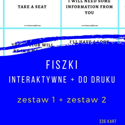 Fiszki do kursu online – zestaw 1 + 2