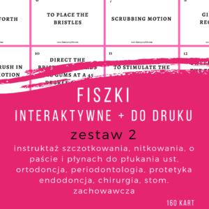 Fiszki do kursu online – zestaw 2