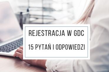 Rejestracja w GDC – 15 pytań i odpowiedzi
