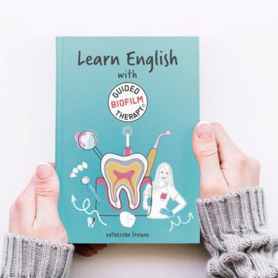"""Książka """"Learn English with Guided Biofilm Therapy"""" PRE-ORDER"""